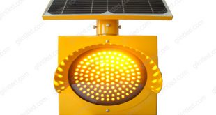 solar flashing led warning lights