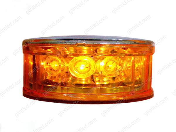 solar flashing led warning lights