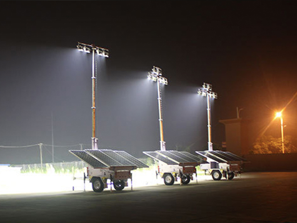 Solar Tower Lighting Sales in Best Price