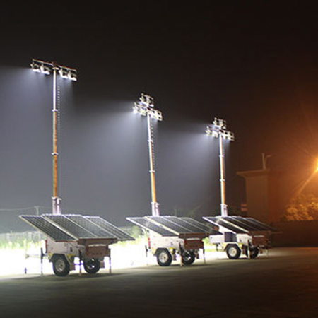 Solar Tower Lighting | Solar Light Tower Distributors