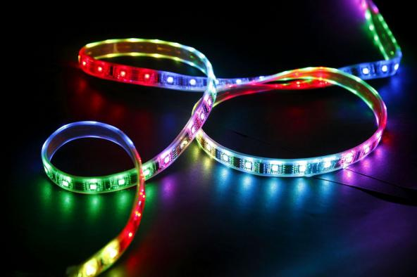 Which colors of LED lights are more popular?